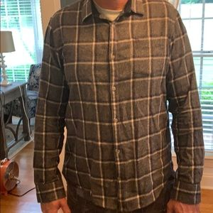 Penguin slim fit flannel size xl
